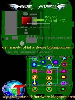 phone keypad recall hook flash