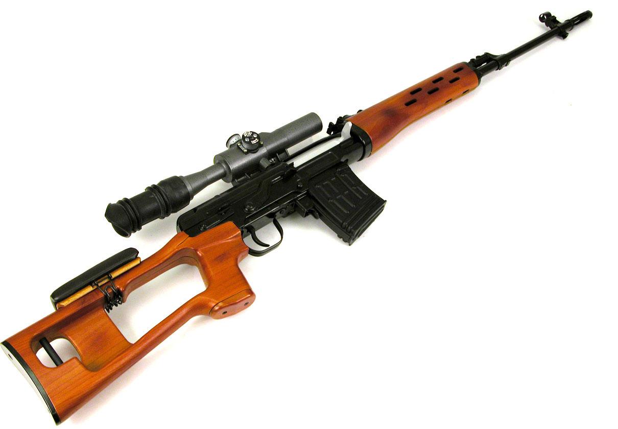 PAPERCRAFT-MODEL: Dragunov SVD Sniper Rifle Papercraft