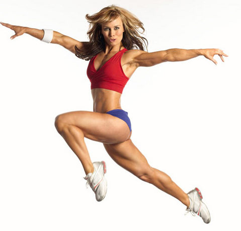 how to build leg muscle female