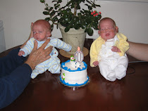 Cameron & Evan turn 0!