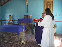 Mass at San Juan de los Pimas