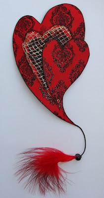 валентинка.  AneJIbcuHka, милые такие, романтичные Lilia, очень понравились шнурочки) marysun понравилась идея с...