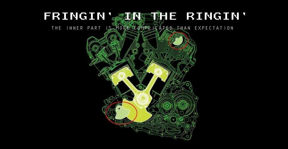 FRINGIN' IN THE RINGIN'