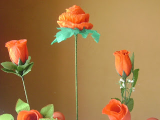 Rosas decorativas para el Dia de la Madre