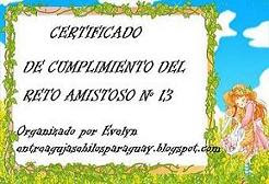 Certificado reto # 13