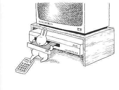 Suicidal bunnie. Conejo suicida.