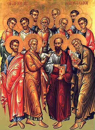 the apostles praise you