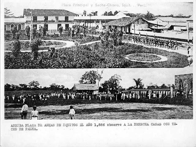 Plaza de Armas 1886