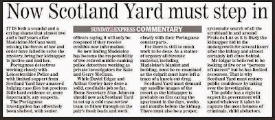Media Mayhem - MCCANN MEDIA NONSENSE OF THE DAY - Page 16 Scotland+yard+must+step+in