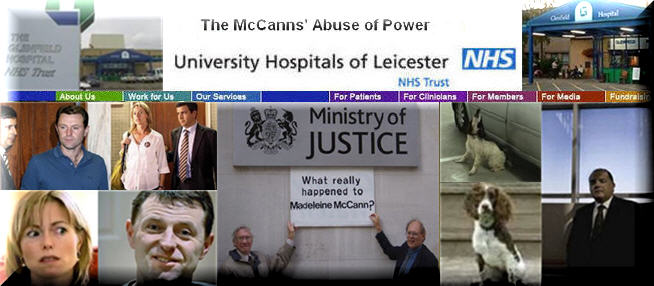 NHS: The McCanns&#39; Abuse of Power