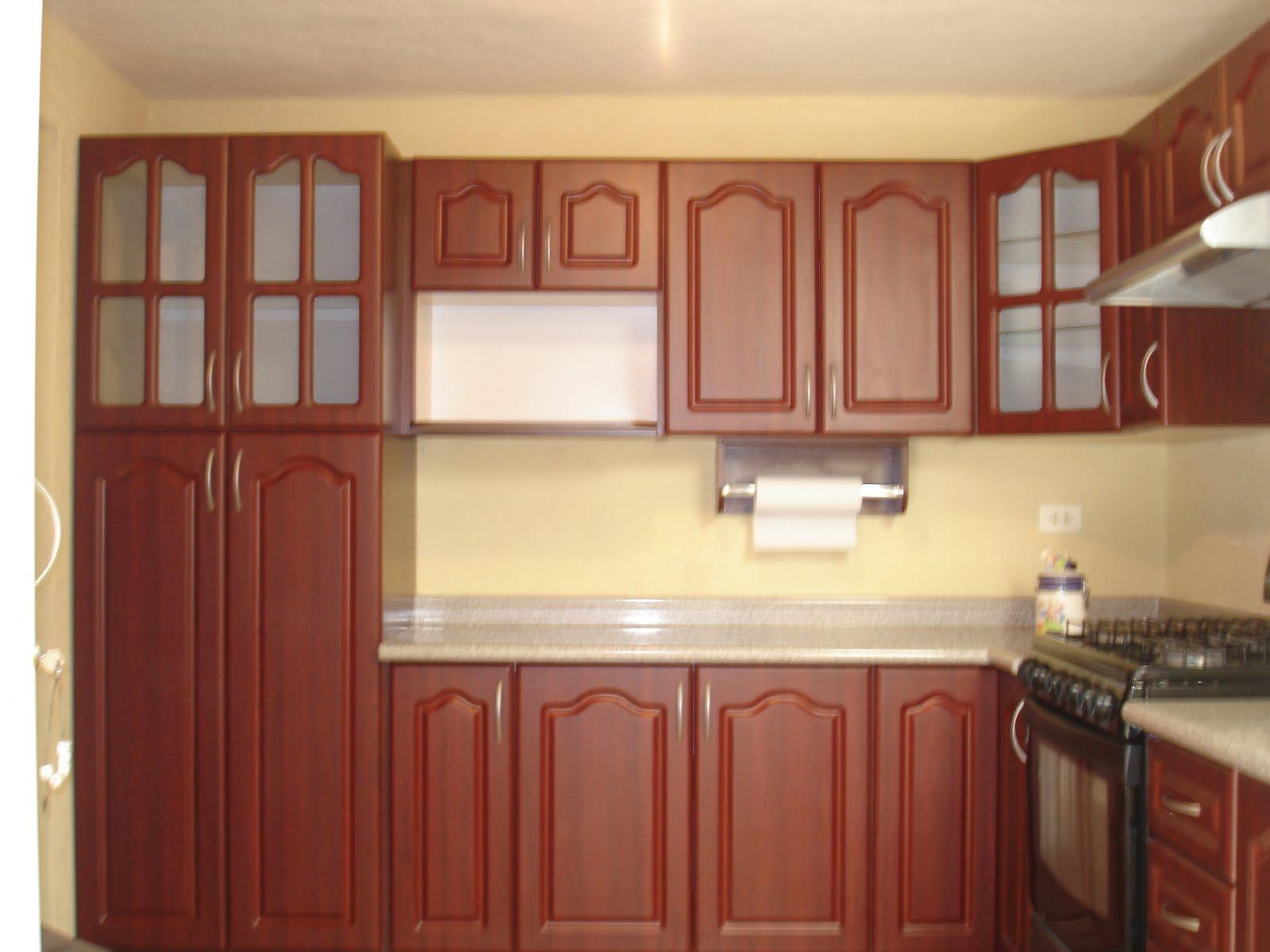 Gabinetes De Cocina Puertas Corredizas De Vidrio