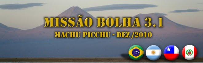MISSÃO BOLHA 3.1
