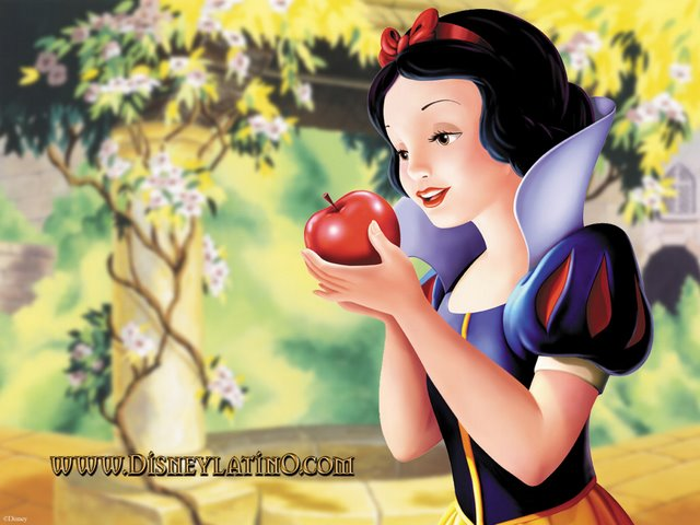 Papel de parede Branca de Neve