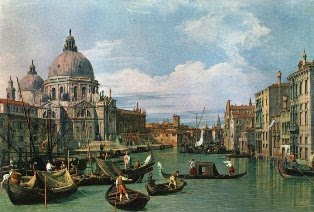 Venice by Giovanni Antonio Canal Canalleto