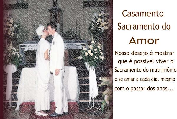 Casamento: sacramento de amor