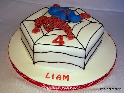 Spiderman Birthday Cake on This Lucky Boy Had Two Spiderman Cakes For His Birthday