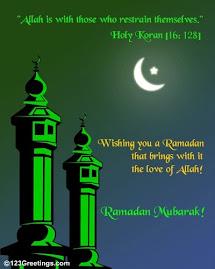***** Ramadan Kareem *****