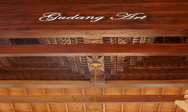 Tumpang Sari Rumah Joglo - Gudang Art