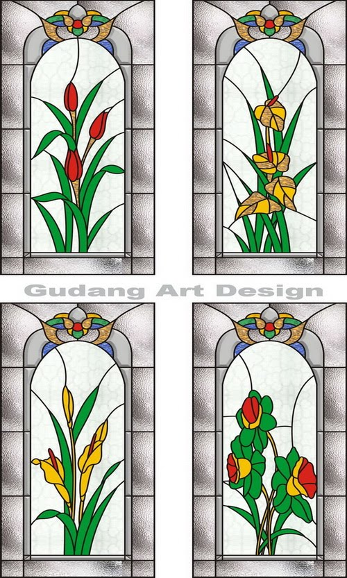 Stained Glass Flowers 500 x 833 · 144 kB · jpeg