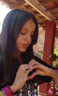 Minha inspiração!!! Filha Eduarda Gabriela...