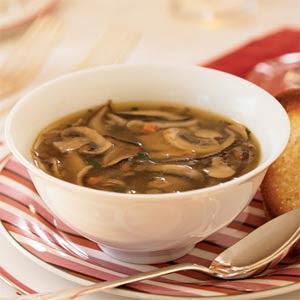 Hungarian Mushroom Barley Soup