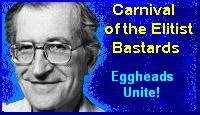 Noam Chomsky Carnival Badge