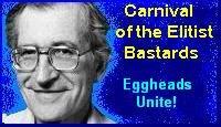 Noam Chomsky Carnival Badge