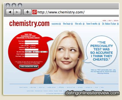 Chemistry dating service