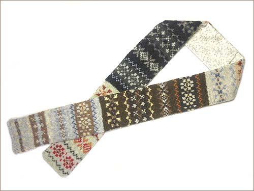 10engines: eribé -fair isle necktie