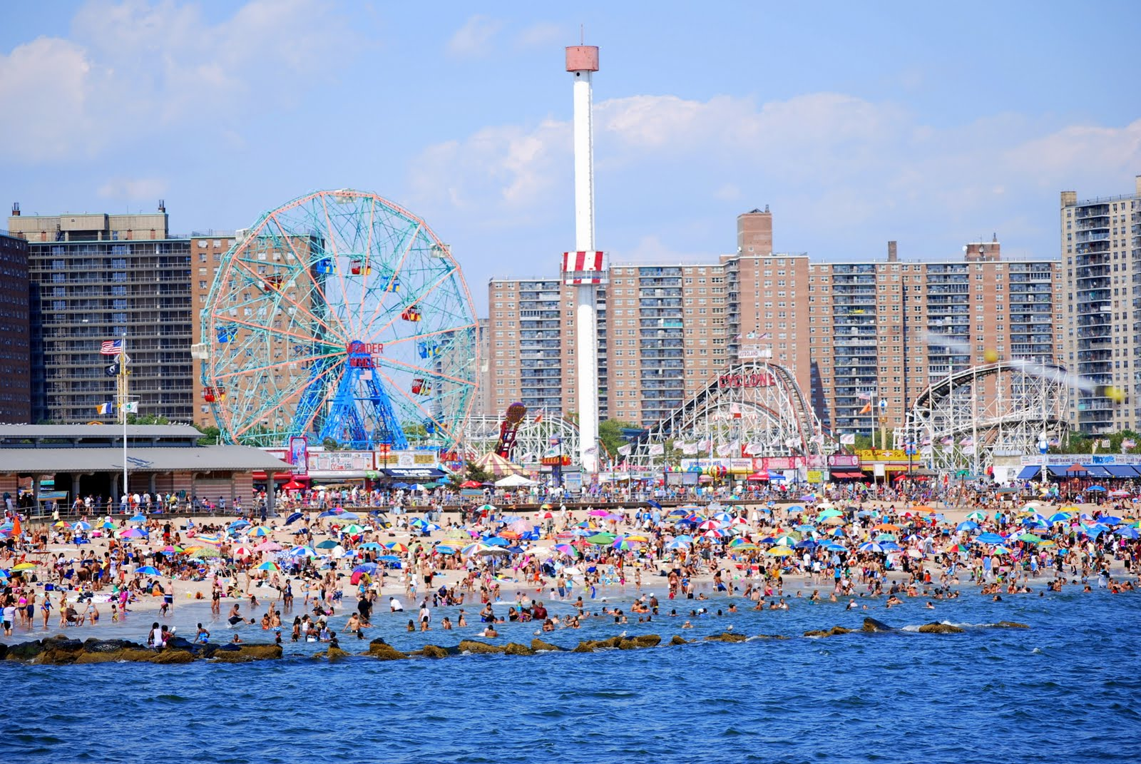 brooklyn neighborhood map with Coney Island on Williamsburg  Brooklyn as well Brooklyn Bridge Walk Tour besides East Harlem  munity Walking Trail in addition 3320 Music Hall Of Williamsburg together with Best Swimming Pools In New York City.