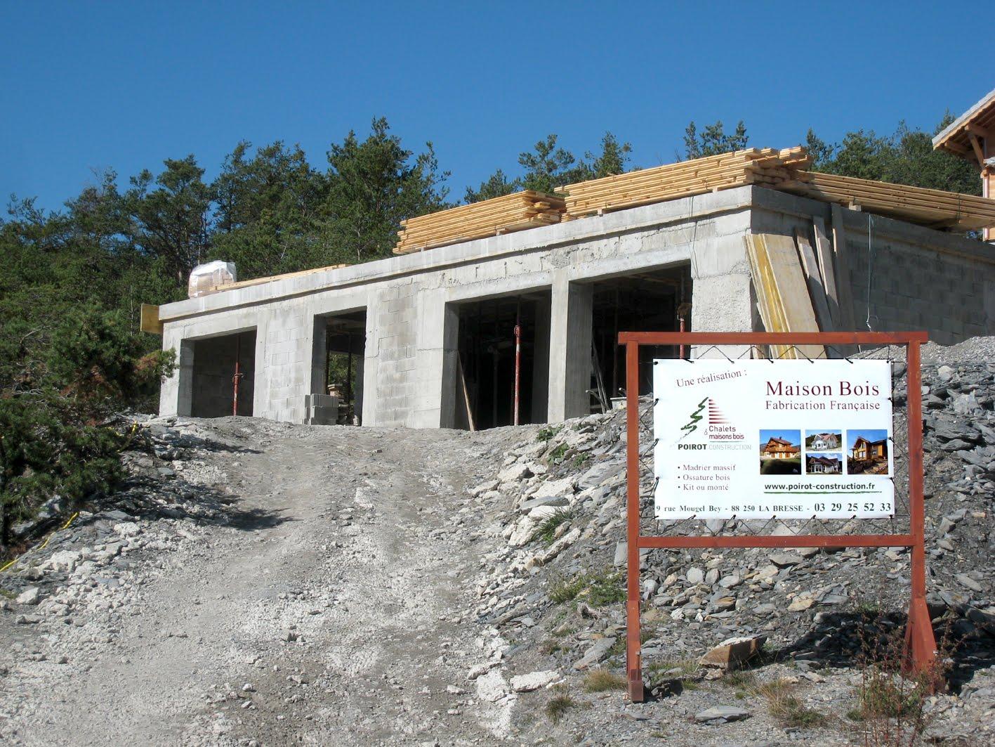 Construire sa maison en avant pour la partie maison en bois for Avant de construire une maison