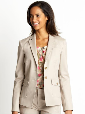 Tall sleek suit jacket