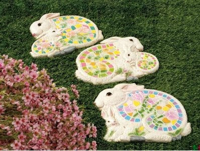 Bunny Stepping Stones