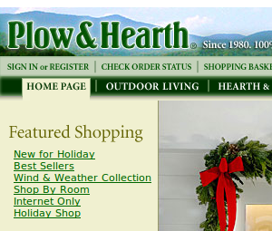 Plow and Hearth Coupons and Deals