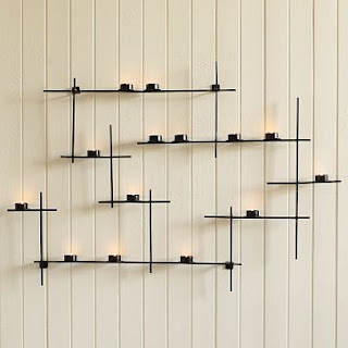 Lattice Wall Candle Holder