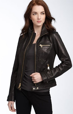 Via Spiga women Lambskin Leather Jacket