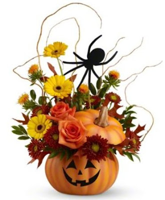 Teleflora's Halloween Web Bouquet