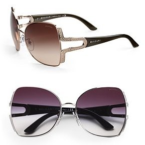 Bvlgari Parenthesi Shield Sunglasses