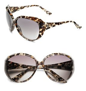 Christian Dior animal Print Sunglasses
