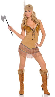 sexy tribal indian thanksgiving costume