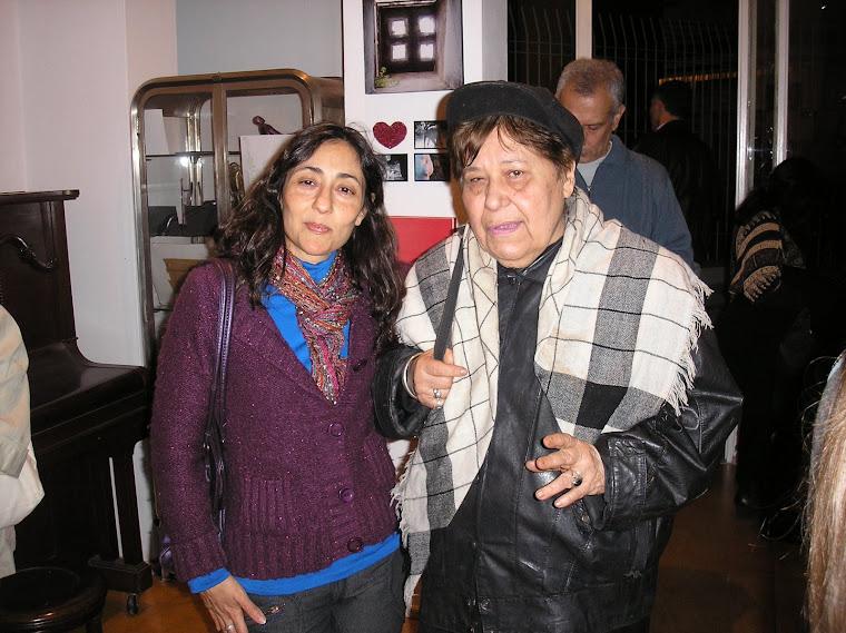 María Elena Lucero y Elsa Flores