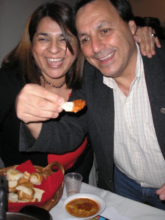 Claudia y Cali con el pan en la salsa