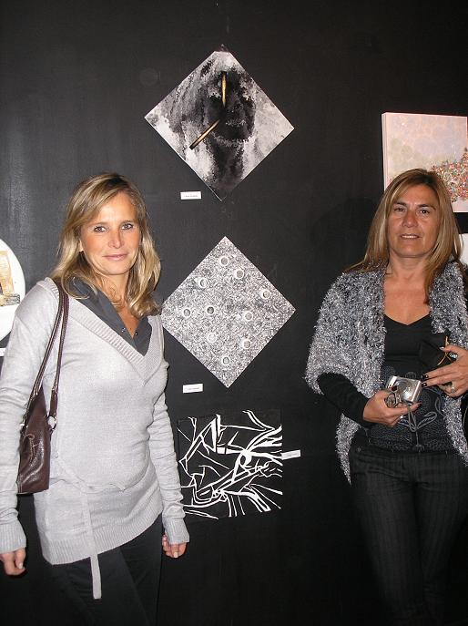 Viviana Strubbia y Laura amarilla