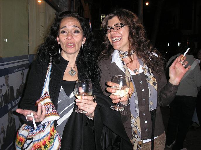 Casi al final muy divertidas Patricia Espinosa y Alejandra Picco