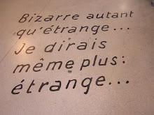 Bizarre Oú Étrange...?
