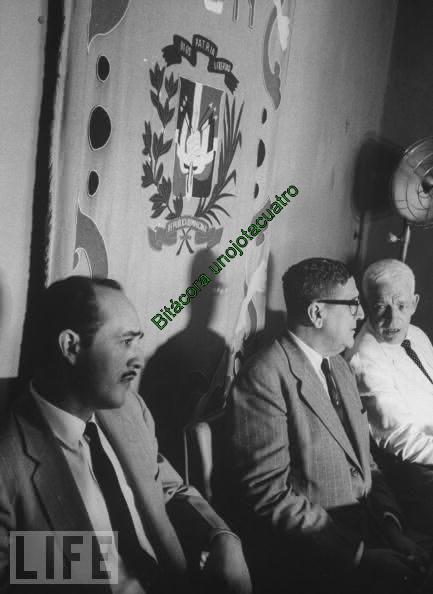 Historica foto de Life de Manolo, Viriato y  Bosch