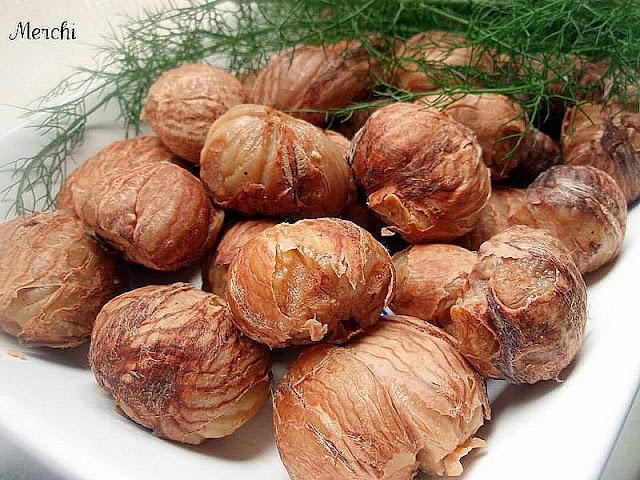 Con sabor a canela casta as con leche asadas y cocidas - Castanas cocidas tiempo ...