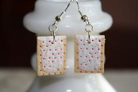 Cool! Pop Tart Earings!