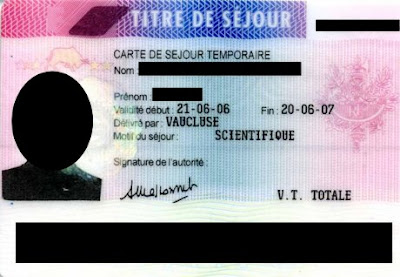 A Malaysian in France: Got my 10 years carte de resident (resident card)