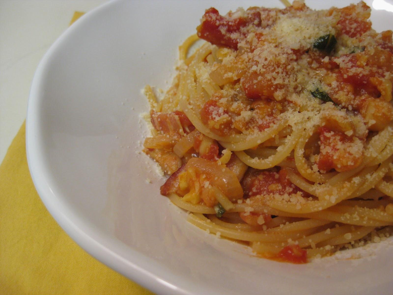 food for scot: Spaghetti with Chickpeas [Spaghetti con Ceci]